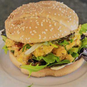 Lunchgerecht: Quarantaineburger