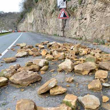 """Le risque """"falaises"""" en Dordogne"""