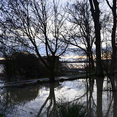 Overstromingen in Lot-et-Garonne