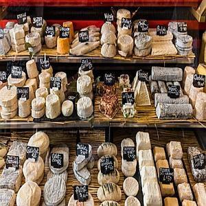 Het vetgehalte in kaas en Rauwmelkse kazen