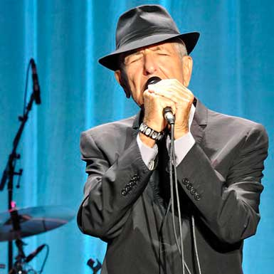 "leonard cohen (1934-2016): ""Thanks for the dance"""