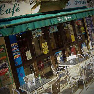 Le Café de Paris (Chez Ignace) in Belvès